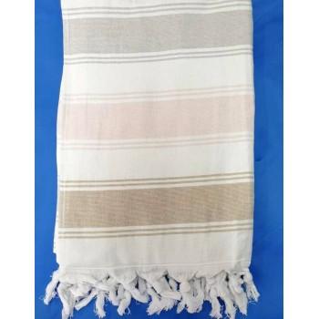 Полотенце пештемаль махровое Марика