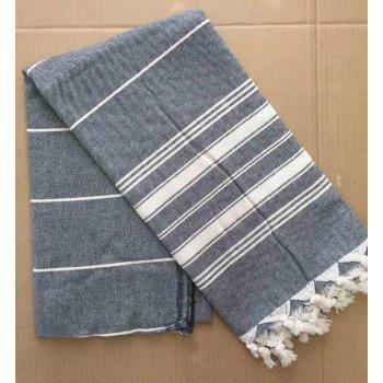 Полотенце пештемаль для пляжа и хамама 100x180 Турция 16620 16620 от Zeron в интернет-магазине PannaTeks