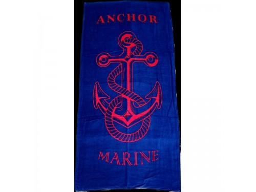 Пляжное полотенце MARINE ANCHOR ТУРЦИЯ 16258 от Zeron в интернет-магазине PannaTeks