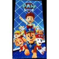 Пляжное полотенце для детей ЩЕНЯЧИЙ ПАТРУЛЬ синее