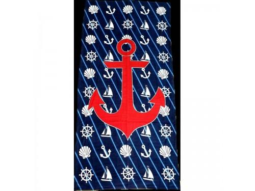 Пляжное полотенце МОРСКОЙ ЯКОРЬ 16265 от Zeron в интернет-магазине PannaTeks