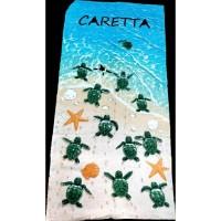 Пляжное полотенце ЧЕРЕПАШКИ CARETTA