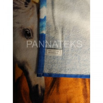 Пляжное полотенце ЛОШАДИ фото 2