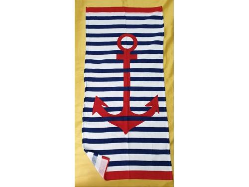 Пляжное полотенце КРАСНЫЙ ЯКОРЬ 17403 от Zeron в интернет-магазине PannaTeks