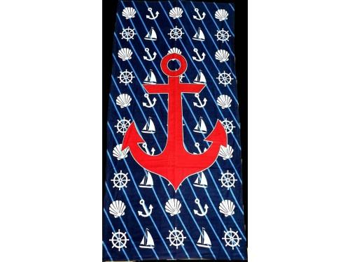 Полотенце пляжное ЯКОРЬ 16265 от Zeron в интернет-магазине PannaTeks