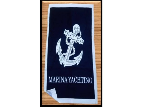 Пляжное полотенце MARINA YACHTING ТУРЦИЯ 14156 от Zeron в интернет-магазине PannaTeks
