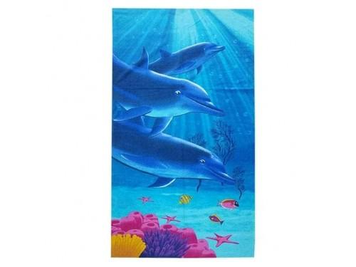 Пляжное полотенце ДЕЛЬФИНЫ 14273 от Zeron в интернет-магазине PannaTeks