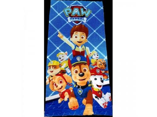 Пляжное полотенце для детей ЩЕНЯЧИЙ ПАТРУЛЬ синее 16260 от Zeron в интернет-магазине PannaTeks