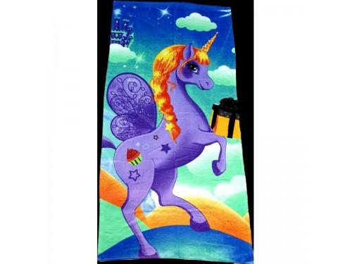 Пляжное полотенце ЕДИНОРОГ 16274 от Zeron в интернет-магазине PannaTeks
