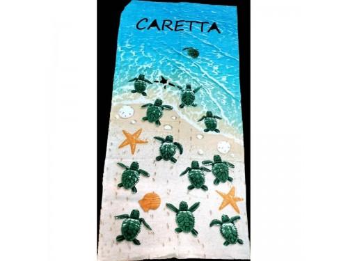 Пляжное полотенце ЧЕРЕПАШКИ CARETTA 16280 от Zeron в интернет-магазине PannaTeks