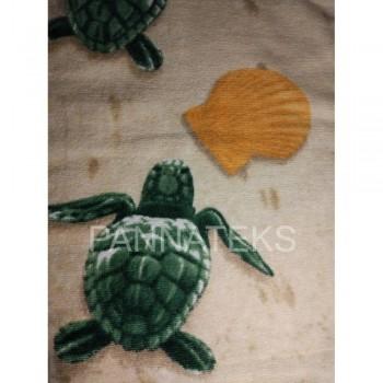 Пляжное полотенце ЧЕРЕПАШКИ CARETTA фото 3