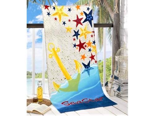 Пляжное полотенце Sea Star 75х150 Турция 16415 от Zeron в интернет-магазине PannaTeks