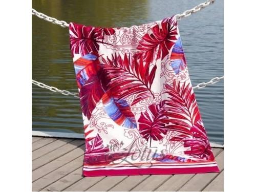 Пляжное полотенце Paradise Fusya велюр 2173834 от Lotus в интернет-магазине PannaTeks