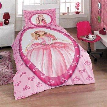 Турецкое детское постельное белье для девочки Aran Сlasy ранфорс GELINCIK-1