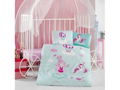 Детское постельное белье в кроватку Little Princess ранфорс Aran Сlasy Турция 13533 от Aran Сlasy в интернет-магазине PannaTeks