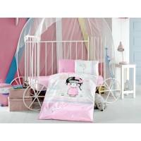 Детское постельное белье в кроватку Ariel ранфорс Aran Сlasy Турция