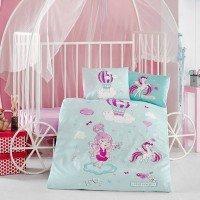 Детское постельное белье в кроватку Little Princess ранфорс Aran Сlasy Турция