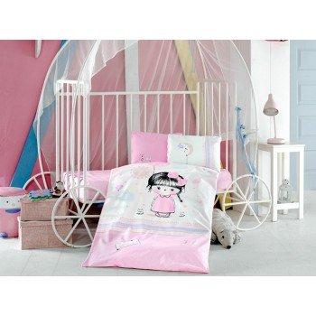 Детское постельное белье в кроватку Ariel ранфорс Aran Сlasy Турция 14042 от Aran Сlasy в интернет-магазине PannaTeks
