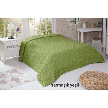 Махровая простынь покрывало оливковый SARMASIK DESEN Турция