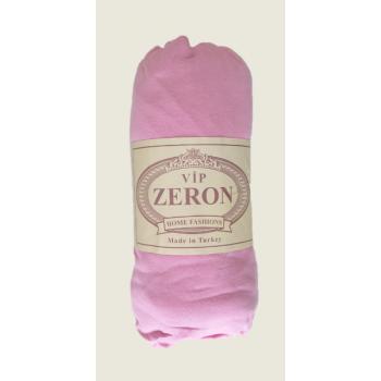 Простынь на резинке трикотажная розовая