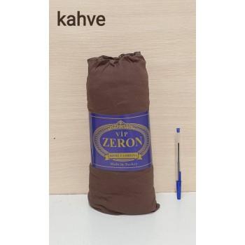 Турецкая простынь на резинке трикотажная KAHVE коричневая Zeron