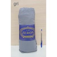Zeron простынь на резинке трикотажная GRI серая Турция