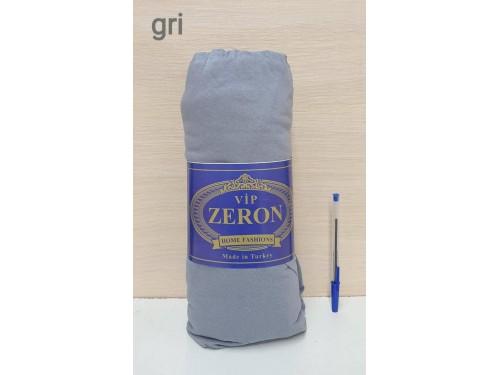 Zeron простынь на резинке трикотажная GRI серая Турция 16872 от Zeron в интернет-магазине PannaTeks