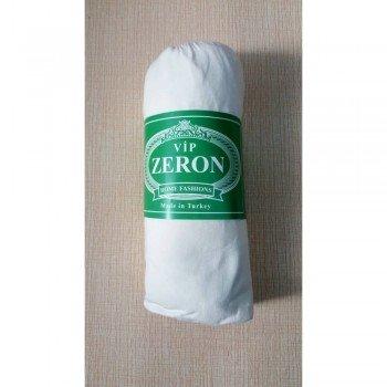 Трикотажная простынь на резинке BEYAZ белая Турция Zeron