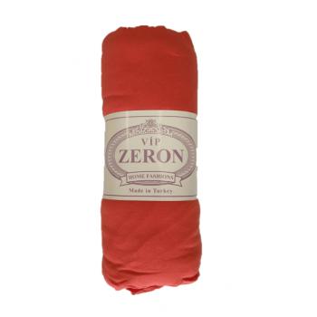 Трикотажная простынь на резинке на кровать KIRMIZI красная Турция Zeron