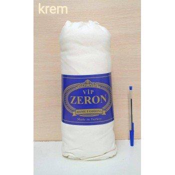 Простыня трикотажная на резинке KREM кремовая Турция Zeron