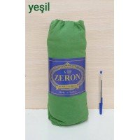 Турецкая простынь на резинке трикотажная YESIL зеленая Zeron