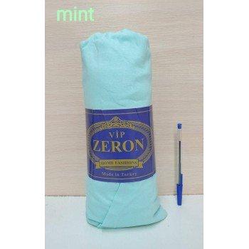 Простынь трикотажная на резинке MINT мятная Турция Zeron