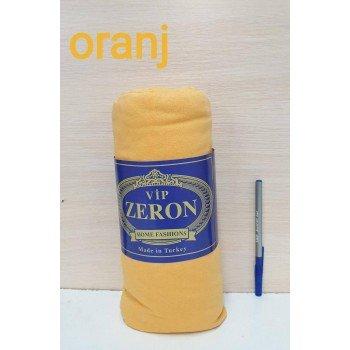 Трикотажная простынь на резинке ORANGJ оранжевая Турция Zeron