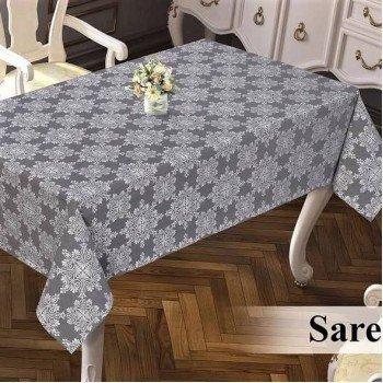 Тефлоновая скатерть на стол DELUXE SARE CRI прямоугольная, Турция