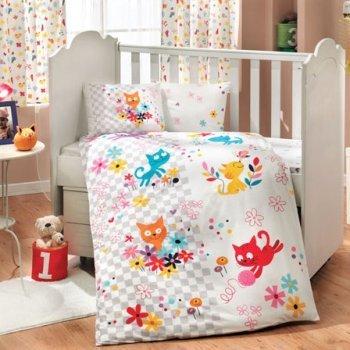 Детское постельное белье в кроватку для новорожденных рисунок