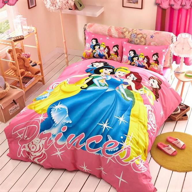 Детское постельное белье сатин рисунок