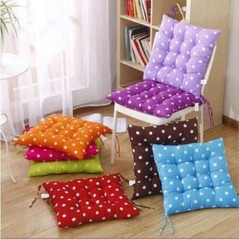 квадратная подушка на стул в интернет-магазине ПаннаТекс